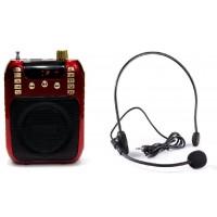 Громкоговоритель поясной ORATOR-2 (красный). 35 Вт С USB и сменным АКБ