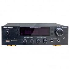 Стерео усилитель AV 80 с МР3, Bluetooth и микрофонными входами