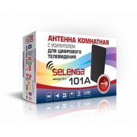 Антенна активная телевизионная, комнатная Selenga 101A
