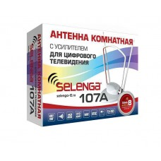 Антенна комнатная с усилителем SELENGA 107A