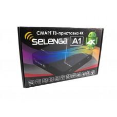Смарт ТВ приставка 4К Selenga A1