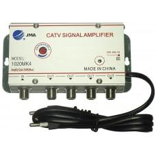 Усилители ТВ сигнала для антенны JMA 8620DE24 на 4 тв