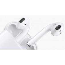Гарнитура беспроводная Apple AirPods 2(футляр с возможностью беспроводной зарядки) MRXJ2RU/A