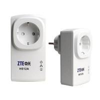 Комплект PLC адаптеров ZTE Powerline сетевой для Триколор ТВ