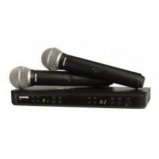 BOLYMIC BLX288 PG58 база 2 микрофона