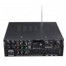 Hi-Fi Стерео усилитель с МР3 , Bluetooth и микрофонными входами 2 по 300 Вт