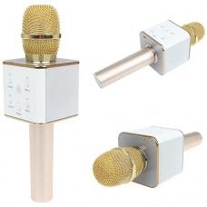 Караоке микрофон со встроенной колонкой и Bluetooth Q7