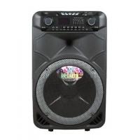 Колонка аккумуляторная с Bluetooth и Двумя радио микрофонами 100-120 Вт