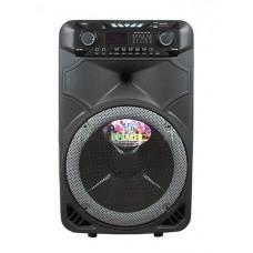 Колонка аккумуляторная с Bluetooth и Двумя радио микрофонами 250-300 Вт