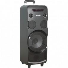Колонка на АКБ с двумя радиомикрофонами 150 Вт