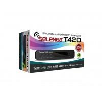 Цифровой эфирный тюнер DVB-T2 SELENGA 42D