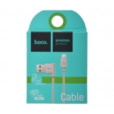 USB кабель micro usb HOCO upm10l угловой 1,2м