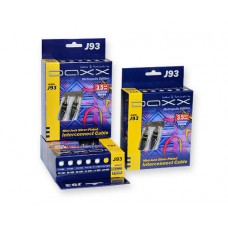 DAXX J93-15 Посеребренный аудио кабель Mini-Jack (папа-папа), AUX 1,1m