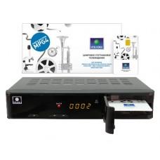 NTV PLUS 1HD VA Спутниковый ресивер с картой (1200)