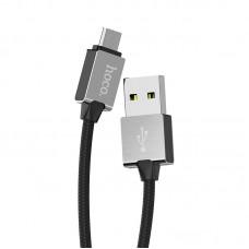 USB Kабель micro usb HOCO U49 metal data cable