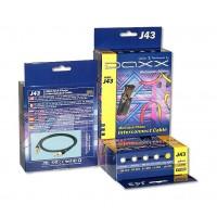 Аудиокабель MiniJack-MiniJack Daxx J43-07 0,75м