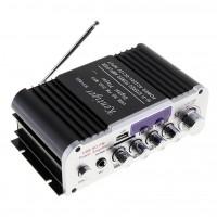 Стерео усилитель с Bluetooth, МР3 и микрофонным входом (мини)