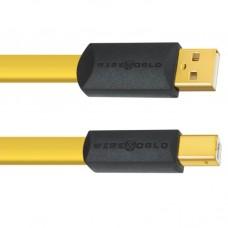 Wireworld Chroma USB 2.0 A-B Flat Cable 0.5m, кабель USB, тип A-B, 0,5м. (CSB0.5M)