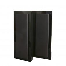 DLS Flatbox Slim Large V2, black piano, настенная акустическая система