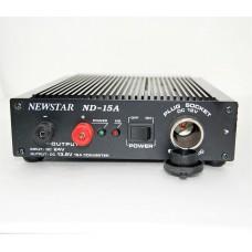 Автоадаптер  вход 24v (штекер прикуривателя) - вых. клемма 13.8v + доп.гнездо прикурвателя.12v - 15A