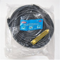 Шнур A/V HDMI - HDMI plastic -gold  FULL HDMI 1080P version 1.4 Ø -8.0 mm, 35,0 м с усилителем