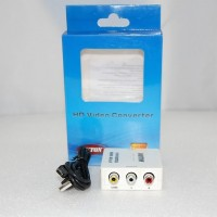 Конвертер  вход HDMI - выход RCA (video) + 2*RCA (audio) DC 5v шнур mini USB 5P-USB A