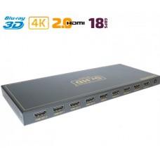 HDMI 2.0 делитель 1x8 / Dr.HD SP 186 SL