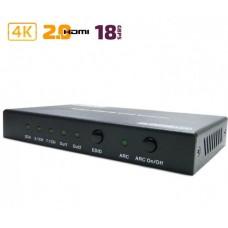 Конвертер HDMI в 2x HDMI + S/PDIF + Audio 3.5mm / Dr.HD CA 146 HHS