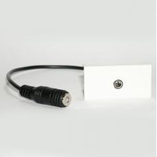 Розетка Audio 3.5 мм с косичкой / Dr.HD SOC PHJ P
