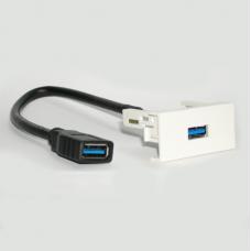 Розетка USB 3.0 с косичкой / Dr.HD SOC USB 3.0 P
