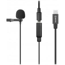 Boya BY-M2 петличный микрофон с переходником Lightning для устройств