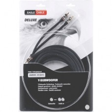 Сабвуферный кабель DELUXE Y-сабвуфер 3,0 м