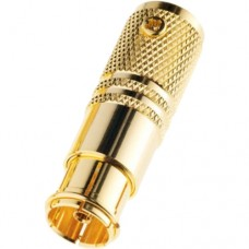Разъем TV Plug female 7 мм золотой
