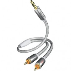 Premium MP3, 3.5 mm <> 2RCA, 1.5 m, 004100015