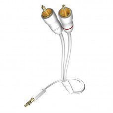 Star MP3 Audio Cable, 3.5 Phone <> 2RCA, 1.5 m, 003100015