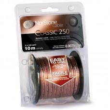 NorStone Classic CL250, акустический кабель, сечение 2х2,5мм², OFC, прозрачная изоляция, 10м.