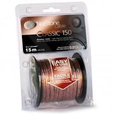 NorStone Classic CL150, акустический кабель, сечение 2х1,5мм², OFC, прозрачная изоляция, 15м.
