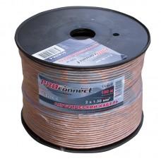 Акустический кабель на катушке PRO connect  2 x 1,50 (100 м)