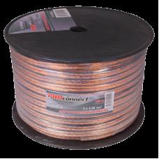 Акустический кабель на катушке PRO connect  2 x 4,00 (100m)