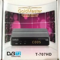 Цифровая DVB-T2 приставка GoldMaster t-707hd