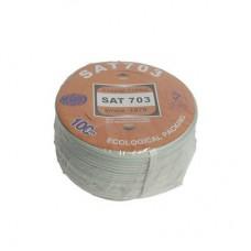 Коаксиальный кабель 75om SAT-703 медь