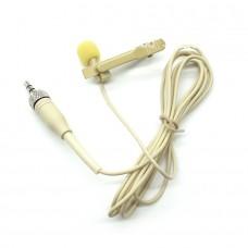 Петличный микрофон с разъемом мини джек 3,5 мм. с гайкой LP27