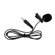 Петличный микрофон с разъемом мини джек 3,5 мм. с резьбой LP2