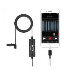 Boya BY-DM1 петличный микрофон для Apple устройств
