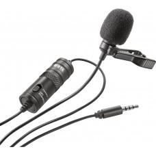 Boya BY-M1 петличный микрофон для смартфонов, камер, диктофонов, планшетов