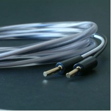 Abbey Road Monitor  SP  2 m  (4mm). Акустический кабель. Цвет черно-белый. Разъем MOVING AIR banan.