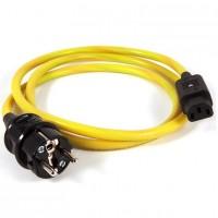 Black Rhodium Fusion (1,5 m). Сетевой кабель. Разъем Schuko/ IEC