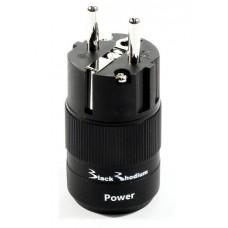 Black Rhodium Rhodium Plated Schuko Plug. Сетевой разъем на кабель