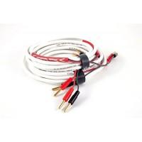 Black Rhodium  OPUS 2 м, banan White. Акустический кабель. Цвет белый.