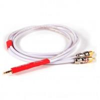 Black Rhodium Rhythm MusicLink 0,5 m. Межкомпонентный кабель. Разъемы  3.5mm.jack-2 RCA.
